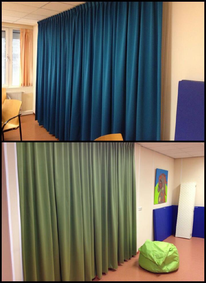 Kinderafdeling in Flevo ziekenhuis kosteloos voorzien van gordijnen.